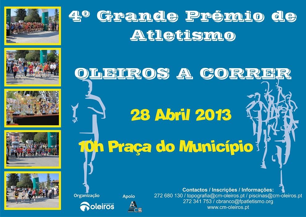 IV Grande Prémio de Atletismo - Oleiros a Correr 2013