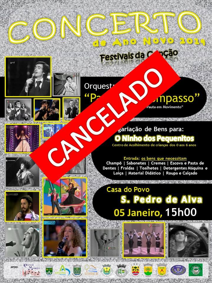 concerto cancelado