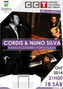 CARTAZ CORDIS E NUNO SILVA PIANO E GUITARRA PORTUGUESA CCT_