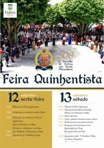 cartaz 500 anos feira quinhentista_