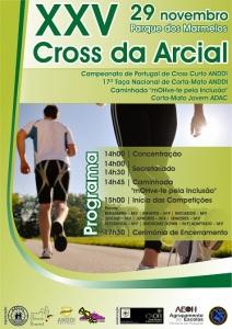 cartaz XXV Cross Arcial