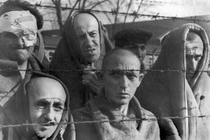 Survivors-of-the-Auschwitz-concentration-camp