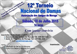 Torneio Nacional de Damas 2015