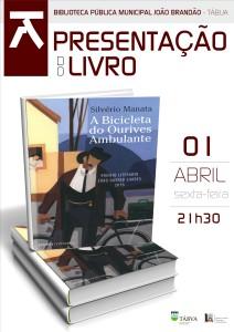 cartaz_Apresentação do Livro A Bicicleta do Ourives Ambulante Silvério Manata