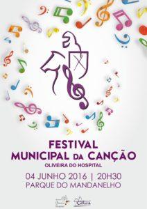 Cartaz Festival Municipal da Canção