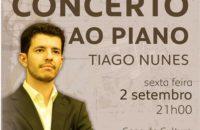 CONCERTO AO PIANO TIAGO NUNES