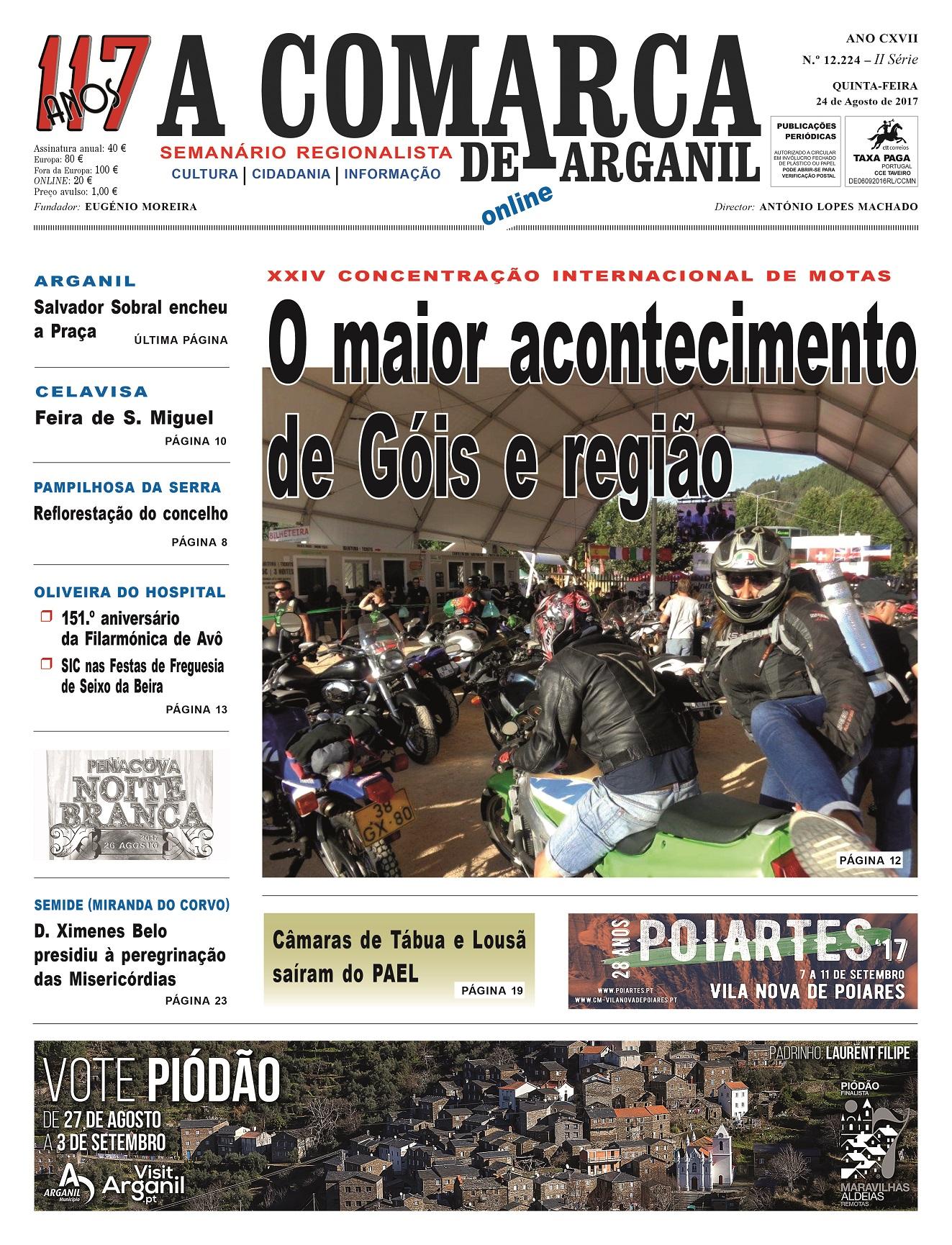 PRIMEIRA PÁGINA 24-08-2017