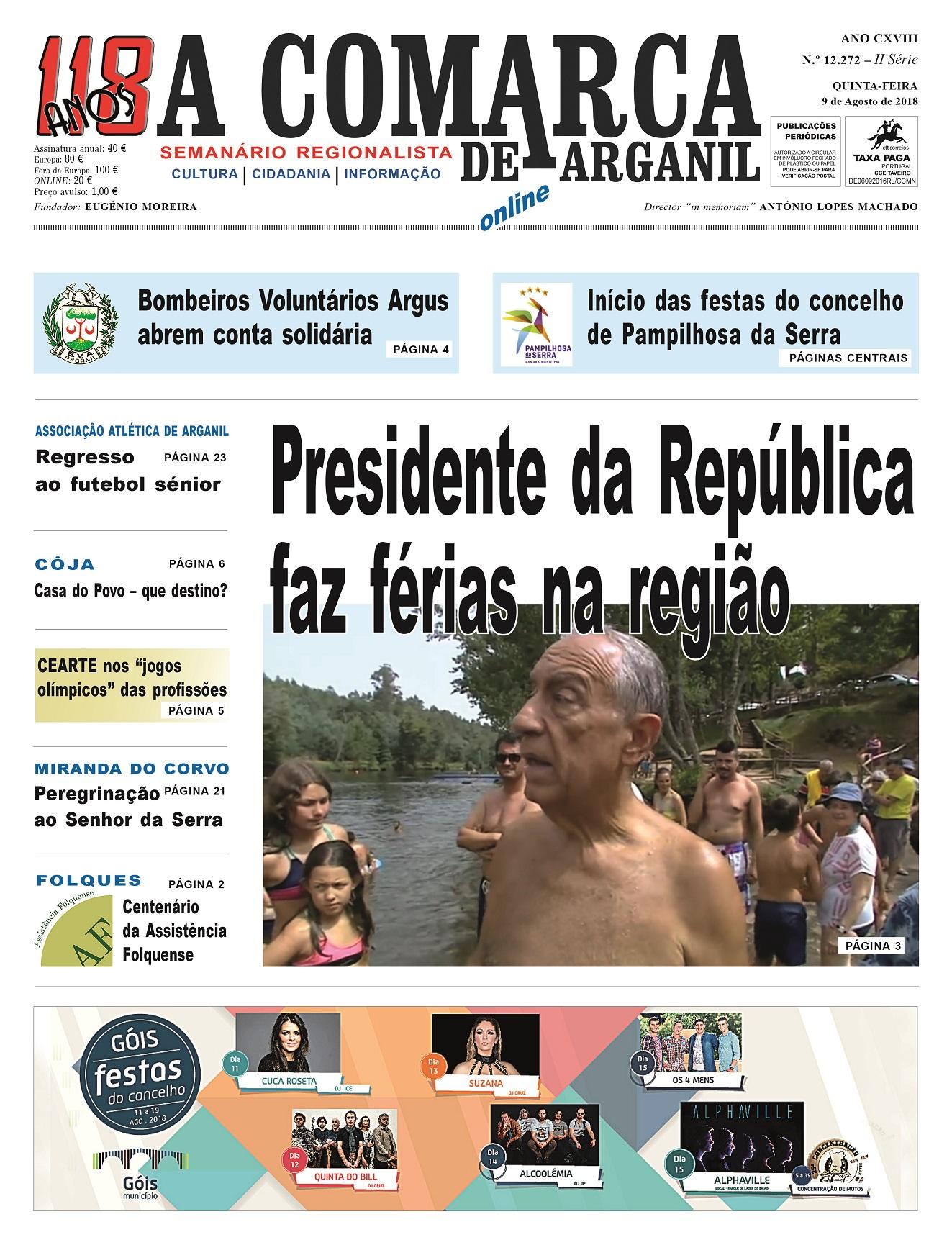PRIMEIRA PÁGINA 09-08-2018