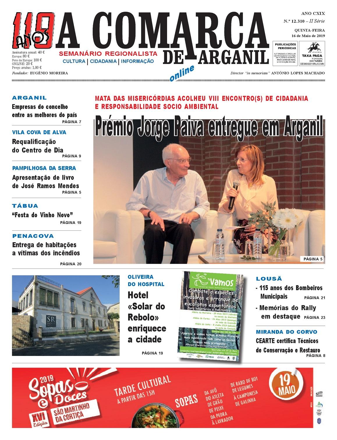 PRIMEIRA PÁGINA 16-05-2019