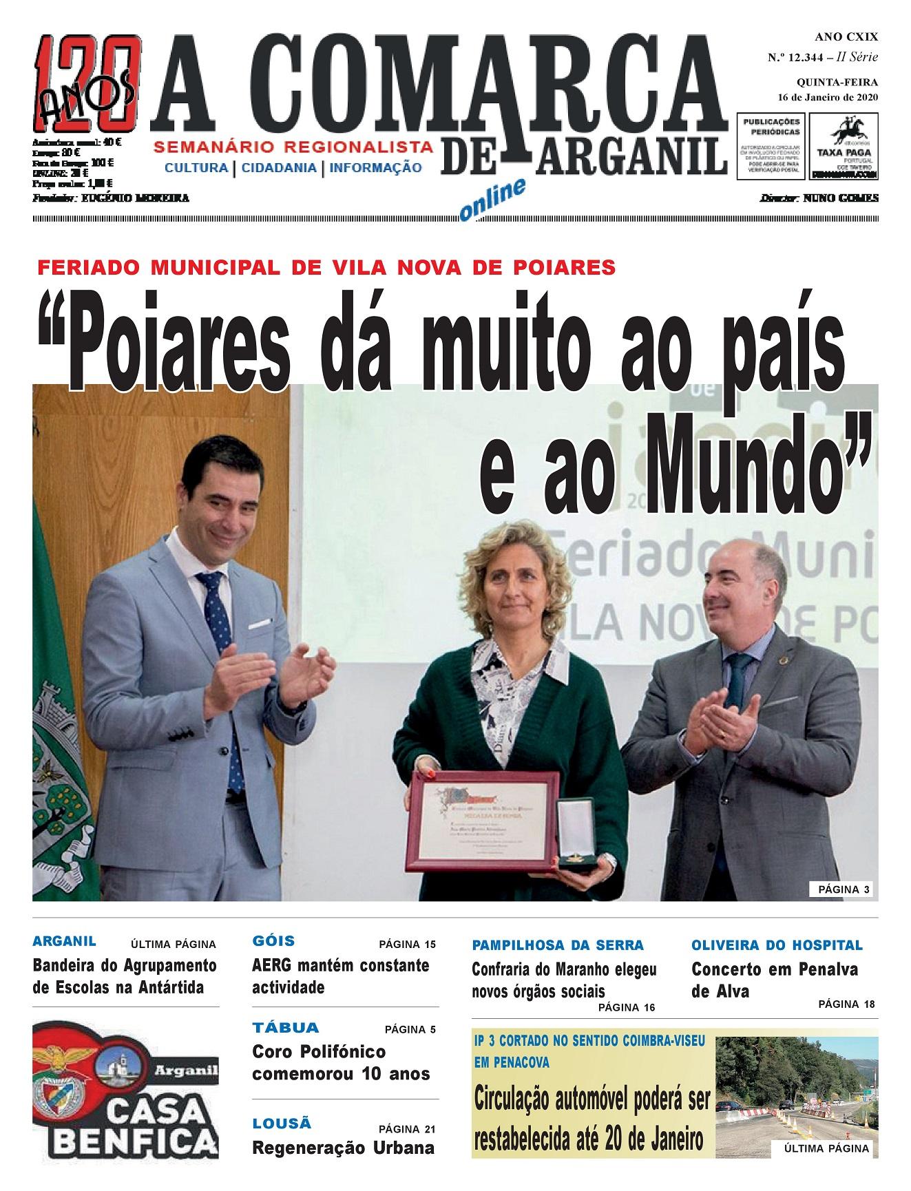 PRIMEIRA PÁGINA 16-01-2020