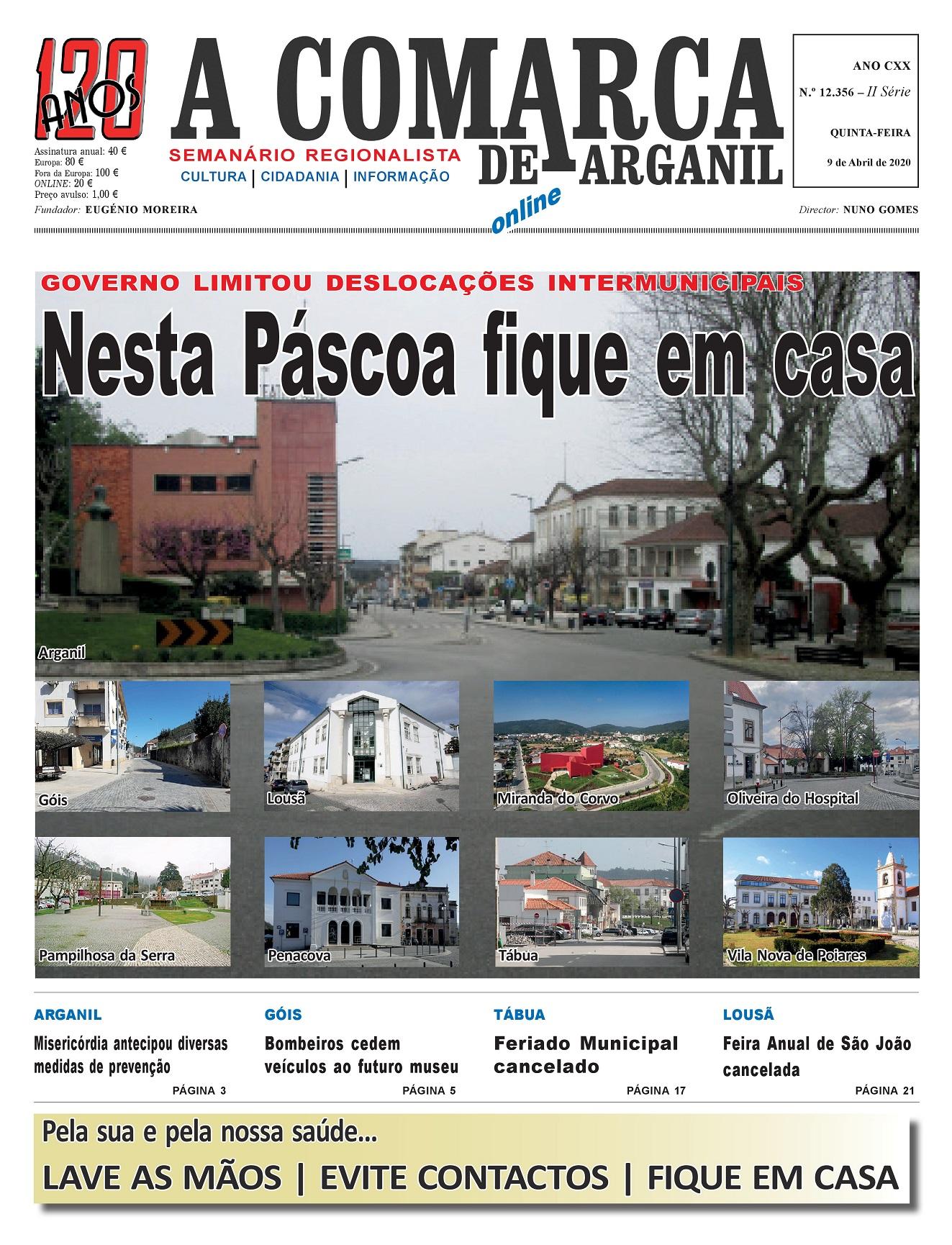PRIMEIRA PÁGINA 09-04-2020