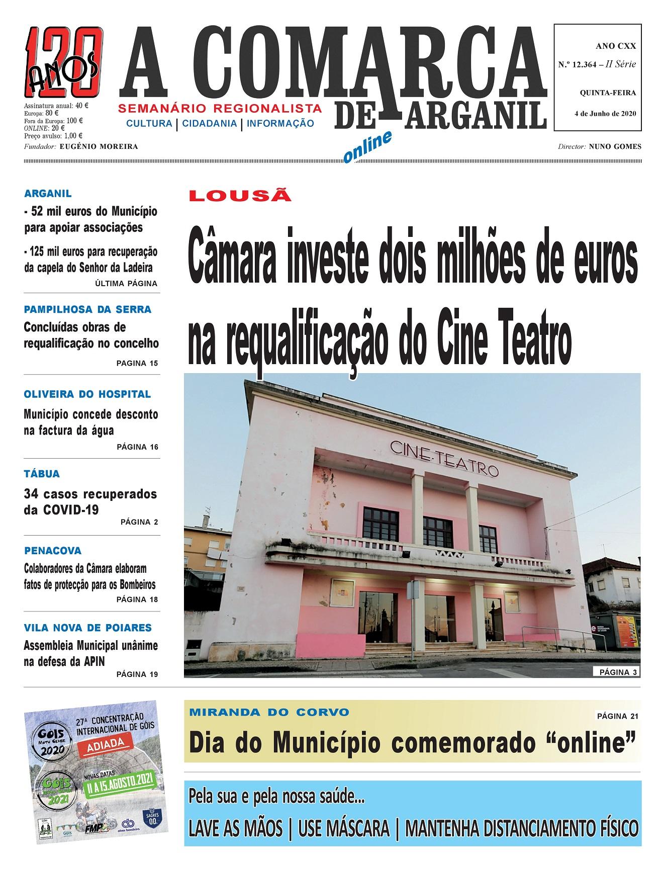PRIMEIRA PÁGINA 04-06-2020