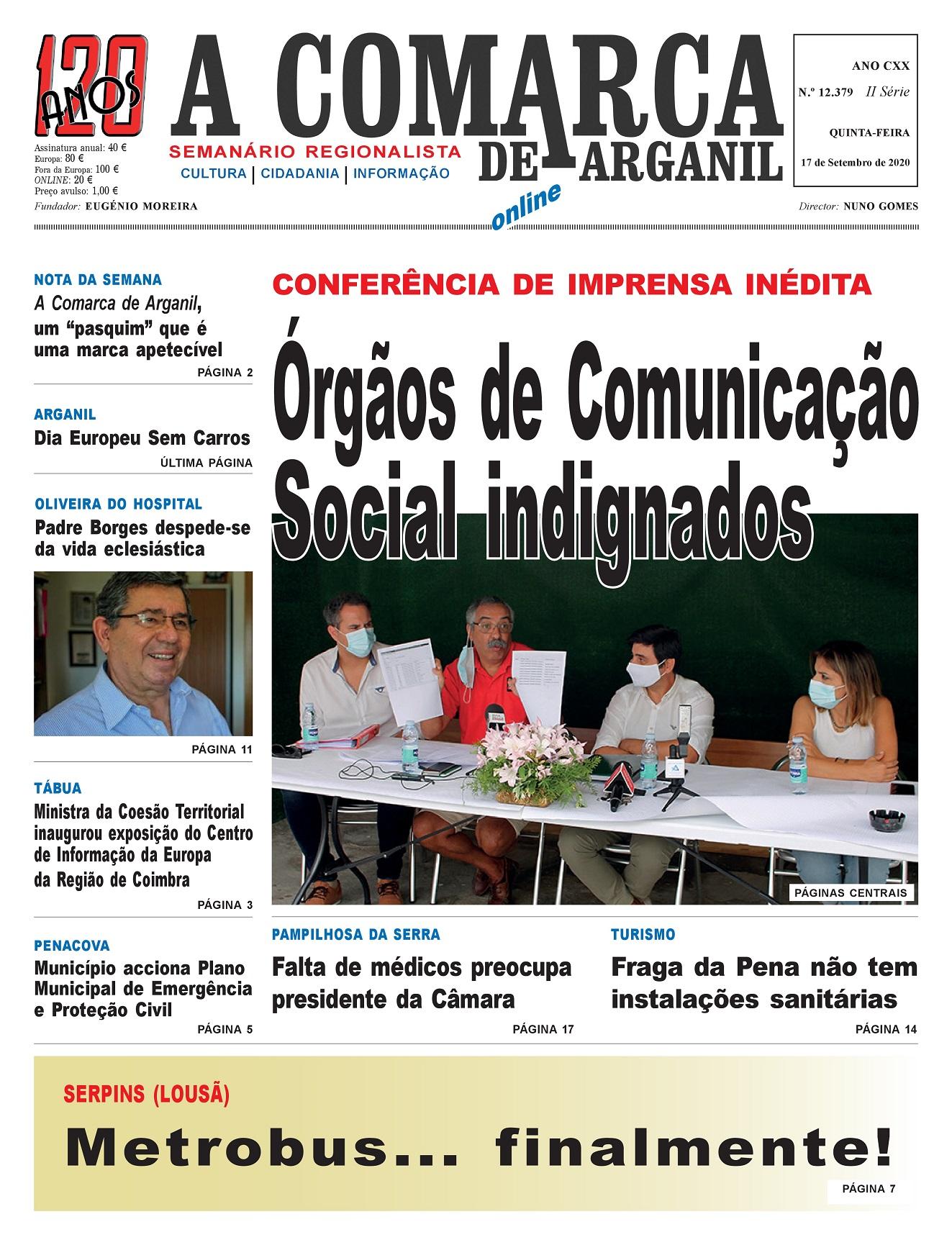 PRIMEIRA PÁGINA 17-09-2020