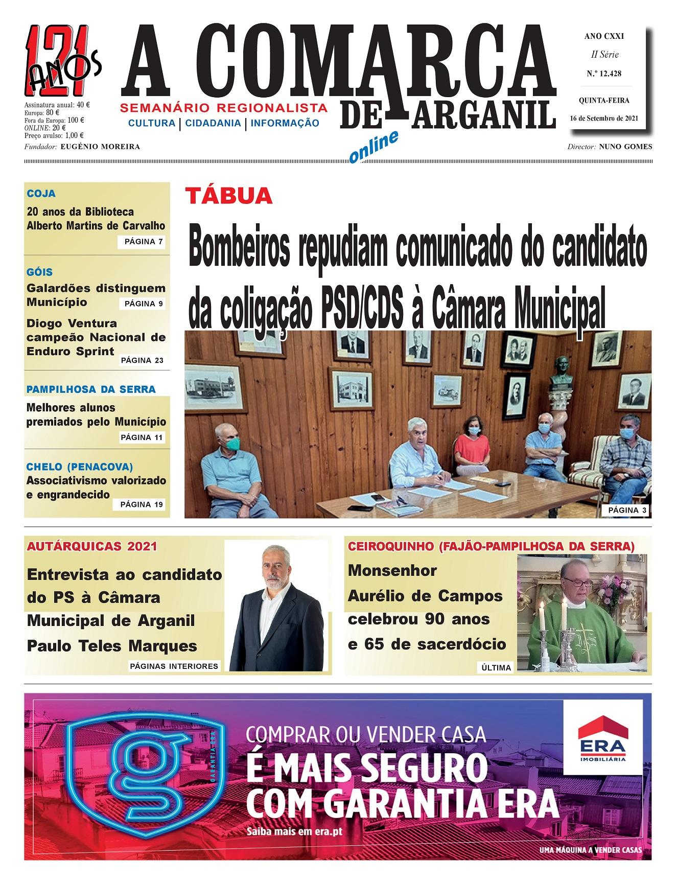 PRIMEIRA PÁGINA 16-09-2021